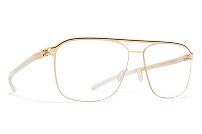 MYKITA - Adriano Eyeglasses Gold/Dark Brown