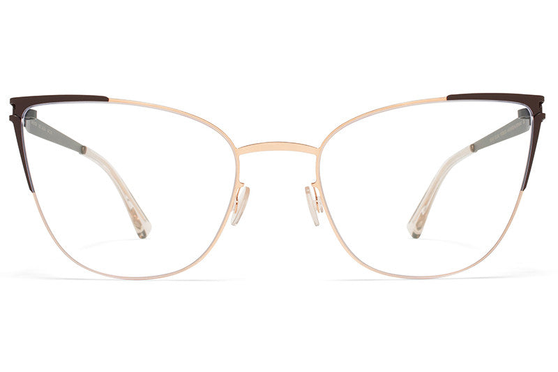 MYKITA Eyewear - Alicia Champagne Gold/Dark Brown