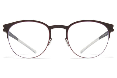MYKITA - Emory Eyeglasses Ebony Brown/Cranberry