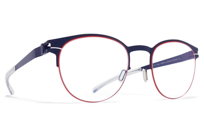 MYKITA - Emory Eyeglasses Navy/Rusty Red