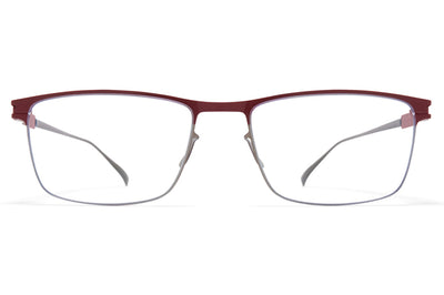 MYKITA - Francesco Eyeglasses Shiny Graphite/Wine Red