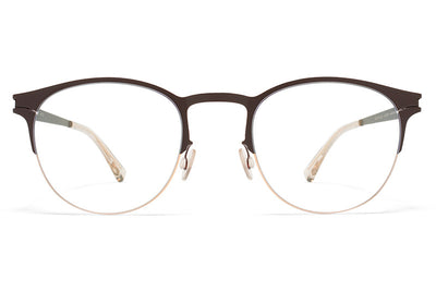 MYKITA Eyewear - Jude Champagne Gold/Dark Brown