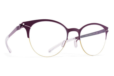 MYKITA Eyewear - Lara Gold/Dark Brown