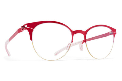 MYKITA Eyewear - Lara Gold/Real Red
