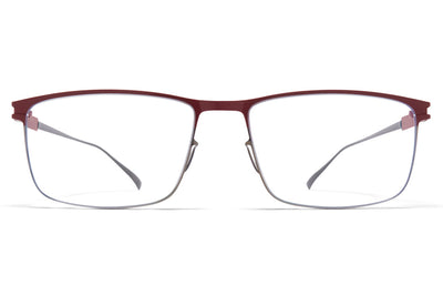 MYKITA - Manuel Eyeglasses Shiny Graphite/Wine Red