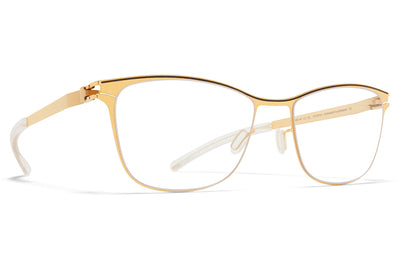 MYKITA - Romina Eyeglasses Gold/Dark Brown