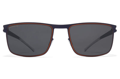 MYKITA - Donovan Sunglasses Indigo/Orange Polarized Pro Hi-Con Grey Lenses