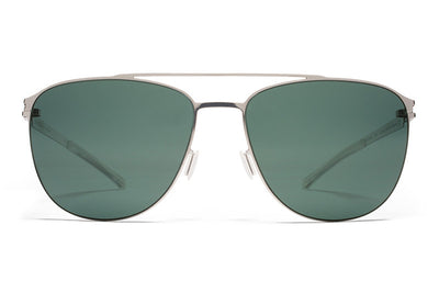 MYKITA Sunglasses - Doug Shiny Silver with Neophan Polarized Lenses
