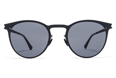 MYKITA Sunglasses - Federico Indigo with Dark Blue Solid Lenses