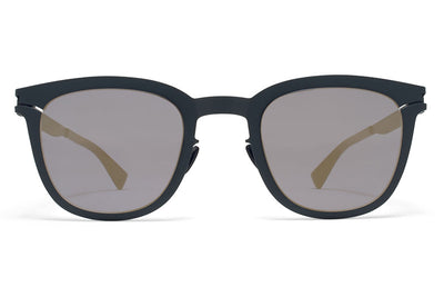 MYKITA Sunglasses - Gregory Indigo with Brilliant Blue Solid Lenses