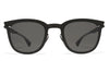 MYKITA Sunglasses - Gregory Matte Black with Dark Grey Solid Lenses
