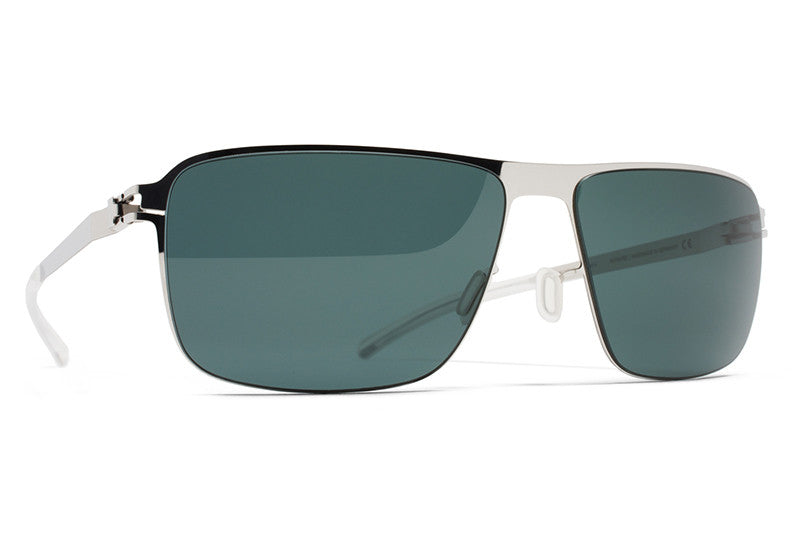 MYKITA Sunglasses - Greyson Shiny Silver with Neophan Polarized Lenses