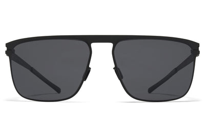 MYKITA - Hampton Sunglasses Black with Polarized Pro Hi-Con Grey Lenses