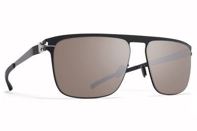 MYKITA - Hampton Sunglasses Jet Black with Polarized Pro Hi-Con Brown Lenses
