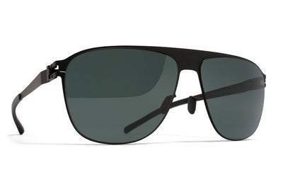 MYKITA Sunglasses - Liston Black with MY+ Black Polarized Lenses