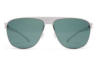 MYKITA Sunglasses - Liston Shiny Silver with Neophan Polarized Lenses