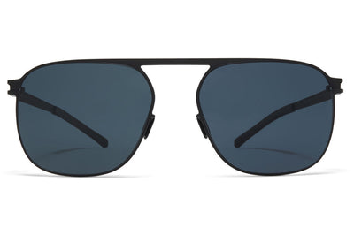 MYKITA - Mikko Sunglasses Black with Black Polarized Lenses
