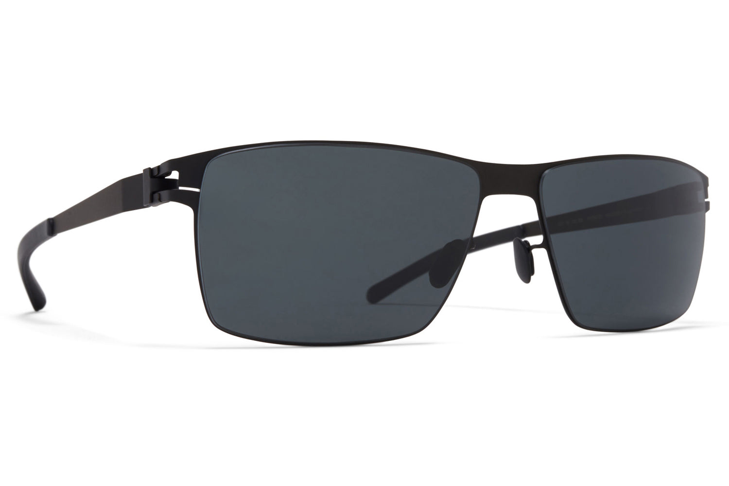 MYKITA - Pierce Sunglasses Black with MY+ Black Polarized Lenses