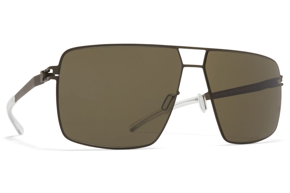 MYKITA - Porter Sunglasses Camou Green, Raw Green Solid