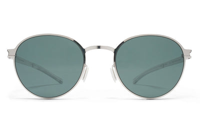 MYKITA Sunglasses - Randolph Shiny Silver with Neophan Polarized Lenses