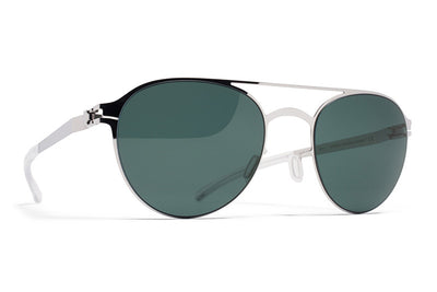 MYKITA Sunglasses - Reginald Shiny Silver with Neophan Polarized Lenses