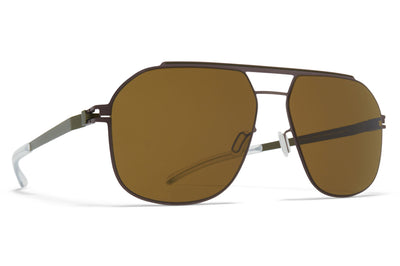 Mocca/Camou Green with Raw Brown Solid Lenses