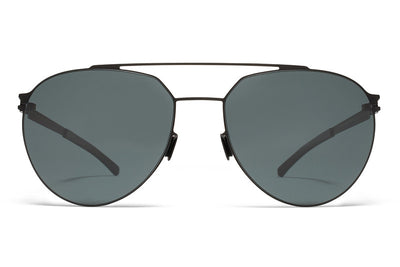 MYKITA Sunglasses - Sylvester  Black with MY+ Black Polarized Lenses