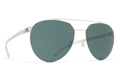 MYKITA Sunglasses - Sylvester  Shiny Silver with Neophan Polarized Lenses
