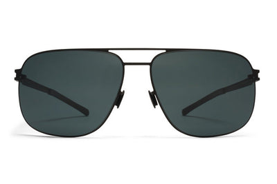 MYKITA Sunglasses - Wes Black with MY+ Black Polarized Lenses