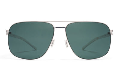 MYKITA Sunglasses - Wes Shiny Silver with Neophan Polarized Lenses