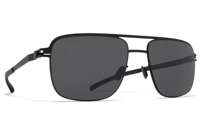 MYKITA - Wilder Sunglasses Black with Polarized Pro Hi-Con Grey Lenses