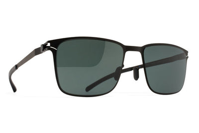 MYKITA Sunglasses - Yanir Black with MY+ Black Polarized Lenses