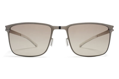 MYKITA Sunglasses - Yanir Shiny Graphite with Green Grad Black Photochromic Polarized Lenses