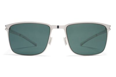 MYKITA Sunglasses - Yanir Shiny Silver with Neophan Polarized Lenses