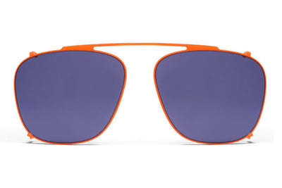 MYKITA Sunglasses - Kendrick Fluor Orange with Indigo Solid Lenses