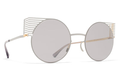 MYKITA STUDIO - Studio 1.1 Sunglasses S2 Grey/Gold with Warm Grey Flash Lenses