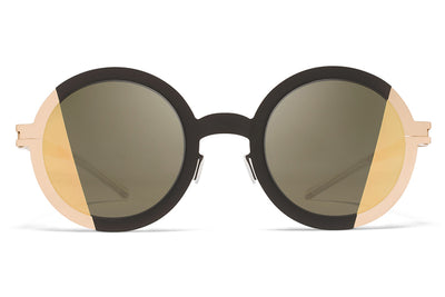 MYKITA STUDIO - Studio 2.1 Sunglasses Champagne Gold/Ebony Brown with Pamir 1 Champagne Gold Lenses