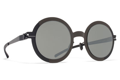 MYKITA STUDIO - Studio 2.1 Sunglasses Shiny Black/Black with Mirror Black Lenses