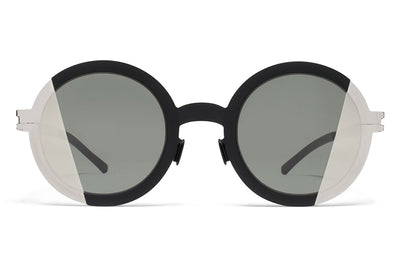 MYKITA STUDIO - Studio 2.1 Sunglasses Silver/Black with Pamir 1 Silver Lenses