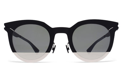 MYKITA STUDIO - Studio 2.3 Sunglasses Silver/Black with Pamir 1 Silver Lenses