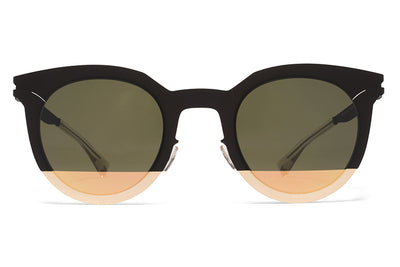 MYKITA STUDIO - Studio 2.3 Sunglasses Gold/Black with Pamir 2 Gold Lenses