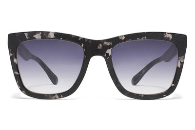MYKITA STUDIO - Studio 3.2 Sunglasses Black Havana with Grey Gradient Lenses