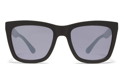 MYKITA STUDIO - Studio 3.2 Sunglasses Matte Black with Matte Blue Lenses