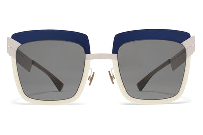 MYKITA STUDIO - Studio 4.2 Sunglasses S11 Cloudy Sky Mod with Grey Solid Lenses