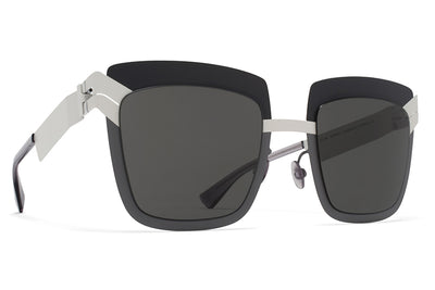 MYKITA STUDIO - Studio 4.2 Sunglasses S5 Mono Grey Mod with Dark Grey Solid Lenses