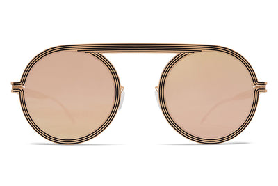MYKITA STUDIO - Studio 6.1 Champagne Gold/Black with Champagne Gold Lenses