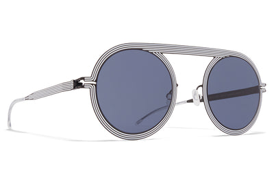 MYKITA STUDIO - Studio 6.1 Shiny Black/White with Dark Grey Solid Lenses