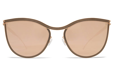 MYKITA STUDIO - Studio 6.2 Champagne Gold/Black with Champagne Gold Lenses