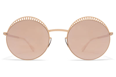 MYKITA - Studio 1.4 Sunglasses Sunglasses S12 Champagne Gold/Ebony Brown with Champagne Gold Lenses