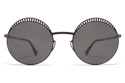 MYKITA - Studio 1.4 Sunglasses Sunglasses S15 Black/Silver with Mirror Black Lenses